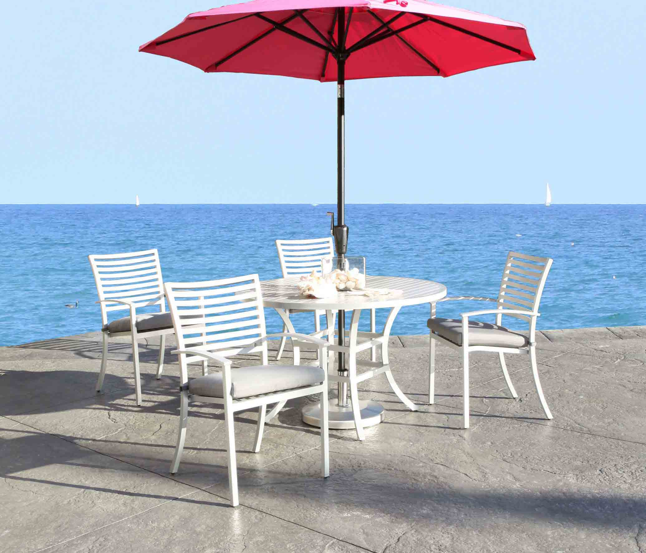 Cabana Coast 10′ Square Cantilever Umbrella
