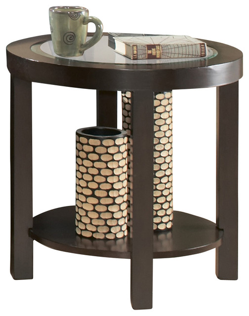 Aziz Round Coffee & End Table