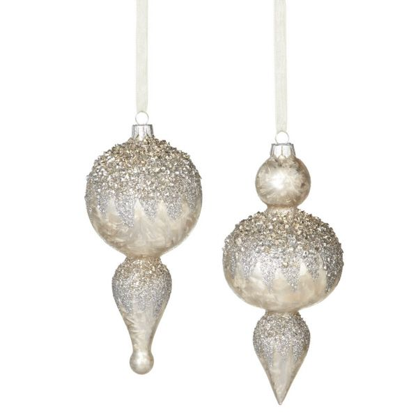 Jolly Christmas Ornament – Champagne Series