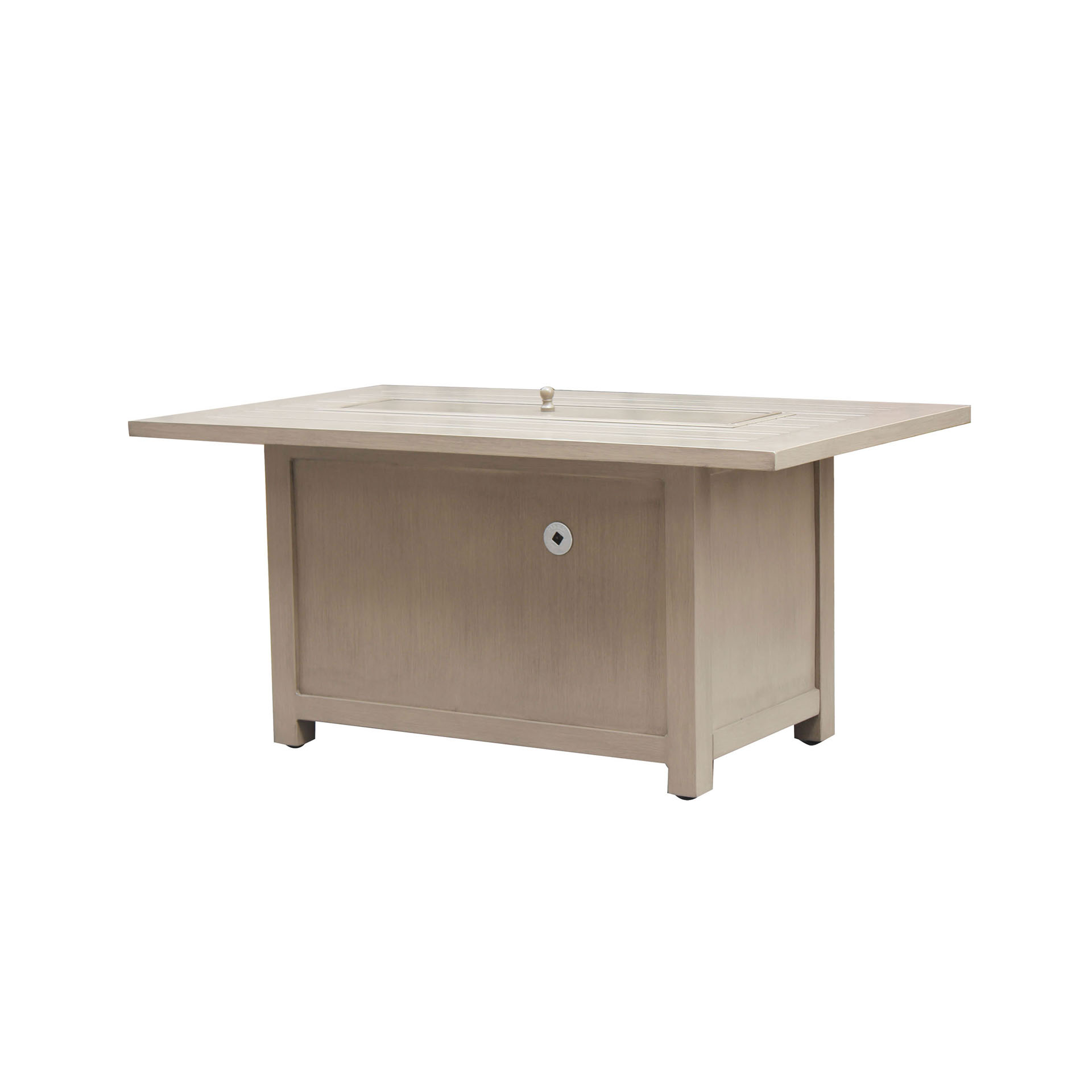 Ratana – 50″ Pozzo Rectangular Fire Table