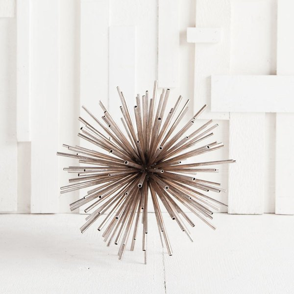 Mercana: Semedell Metal Tube Sculpture