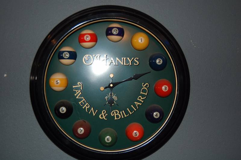 Ergo – Billiard Clock
