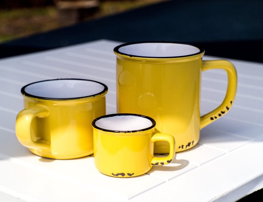 Enamel Look Ceramic Coffee Mugs : mugs from charterhouseinteriors.com size 911 x 700 jpeg 50kB
